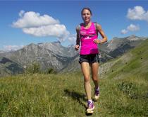 Céline Lafaye séduite par le parcours des France de trail court